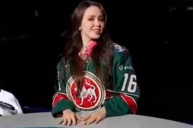 Анастасия Тарасова (Костенко) начала работать ведущей на клубном телевидении хоккейного «Ак Барса».