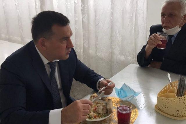 Новокузнецкий градоначальник посетил лицей №34.