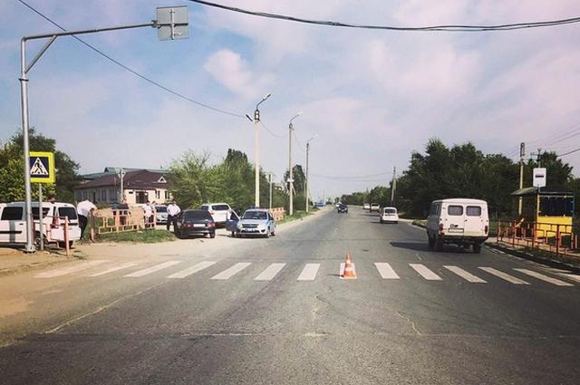 В Сызрани на пешеходном переходе легковушка сбила пятилетнюю девочку
