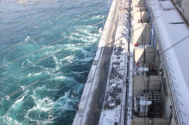Увеличение сброса Иркутской ГЭС проводится со 2 сентября.
