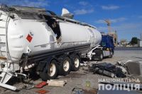 В Киеве взорвалась автоцистерна для перевозки газа: один человек погиб