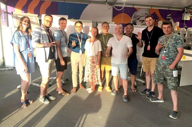 Команда Югры на фестивале «Таврида»