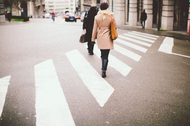 В Невском районе появилось шесть новых пешеходных переходов