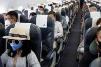 В Японии самолет сделал незапланированную посадку из-за пассажира без маски