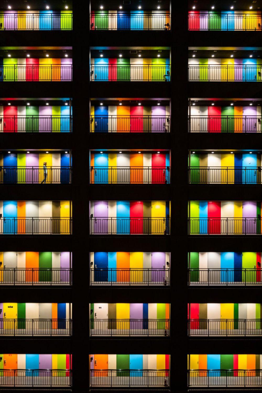 Многоквартирный дом в Токио. Победитель конкурса в номинации «Города».