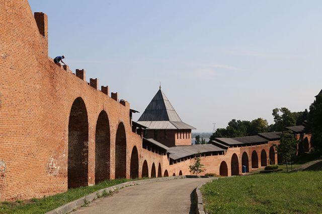 Говорят, к проекту Нижегородского кремля мог приложить руку Леонардо да Винчи.
