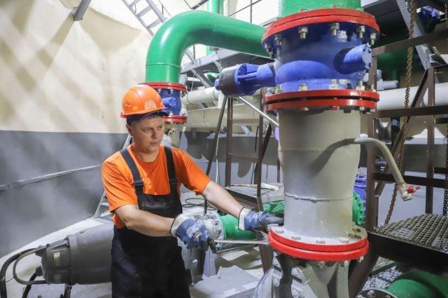 В заречной части Тюмени обновили канализационную насосную станцию