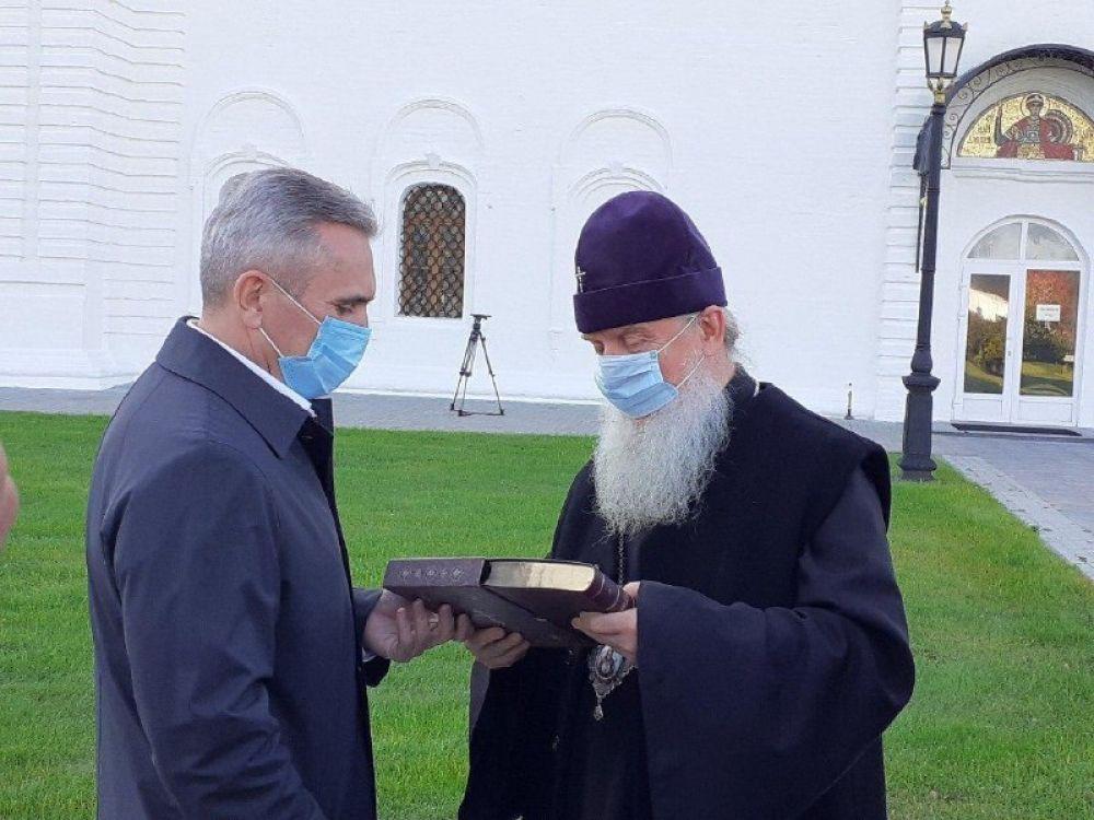 Рабочая поездка Александра Моора в Тобольск.