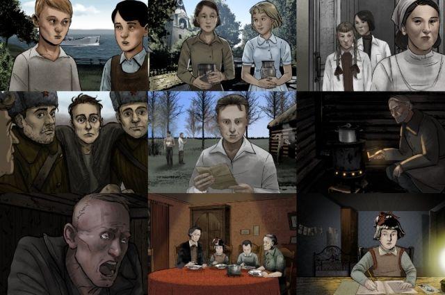 В основе фильмов «Детская книга войны» – дневники детей из одноименной книги, написанные ребятами в возрасте от 9 до 17 лет.