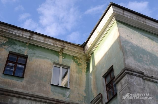 В Бугуруслане в трех домах ввели режим ЧС из-за текущих крыш.
