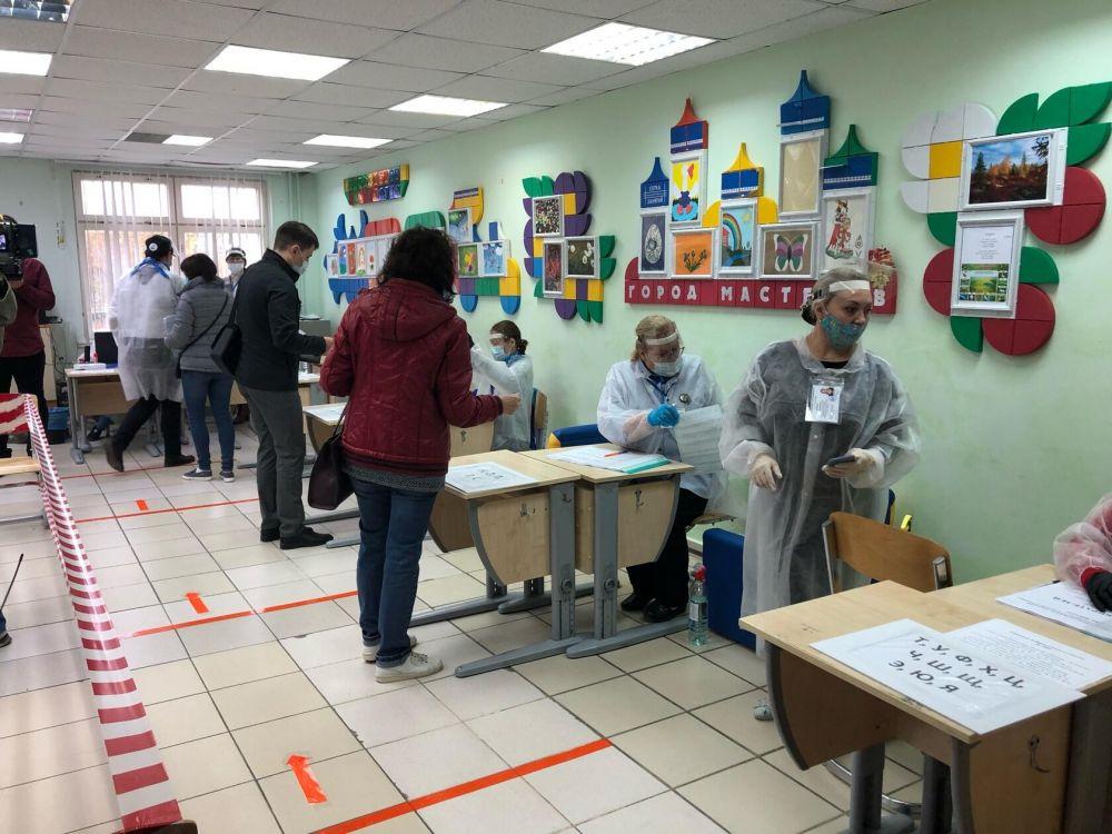 Голосование в Салехарде