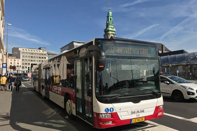 Автобус в Люксембурге.