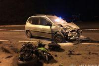В Харькове произошло смертельное ДТП.