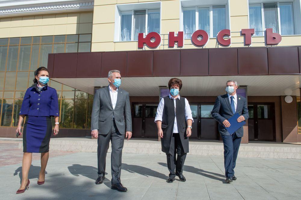 С рабочей поездкой Александр Моор посетил Тюменский район.