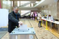 Антон Усманов отдал свой голос за одного из кандидатов 12 сентября.
