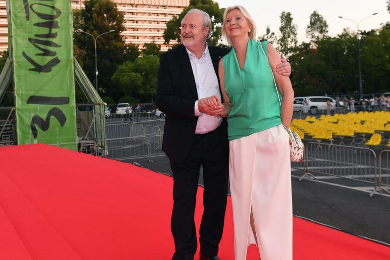 Режиссёр Владимир Хотиненко с супругой Татьяной.