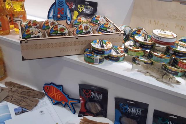 Ямальские производители представили свою продукцию на ярмарке в Салехарде