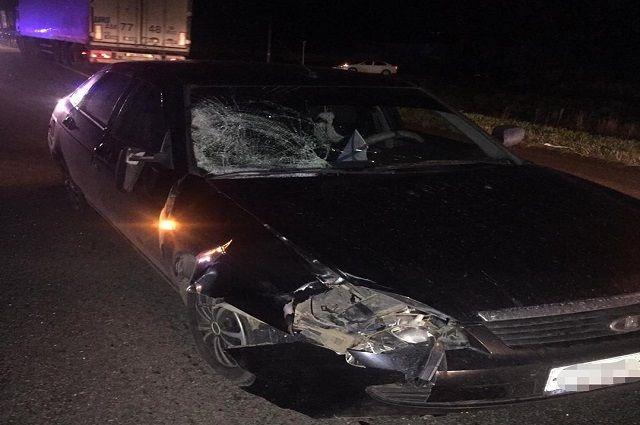 Водитель «Приоры» насмерть сбил пешехода в Башкирии