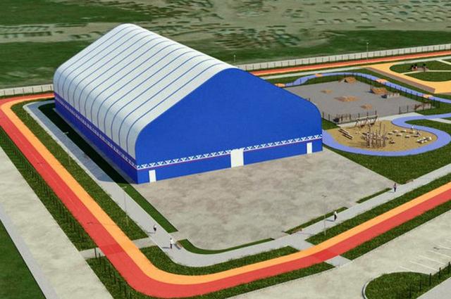 В Новом Порту откроется крытый хоккейный корт