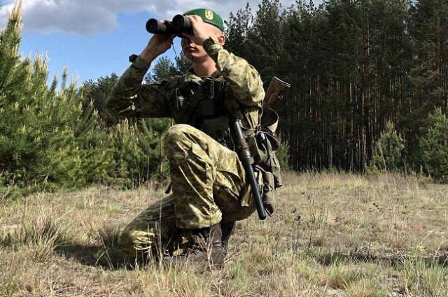 Пограничники взяли под усиленную охрану границу с Беларусью