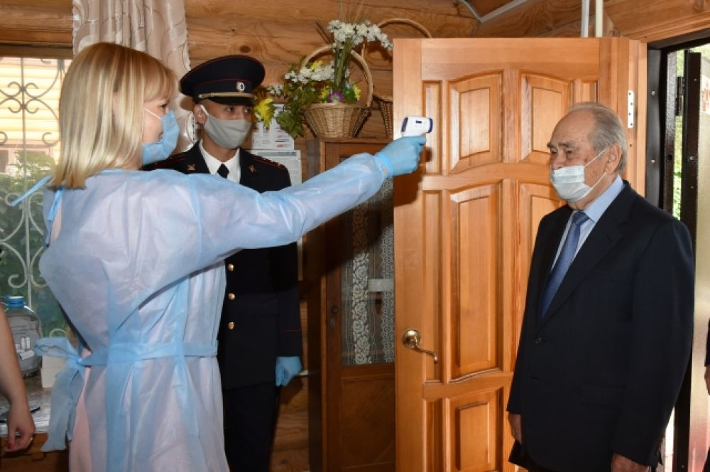 Первый президент Татарстана, государственный советник РТ Минтимер Шаймиев.