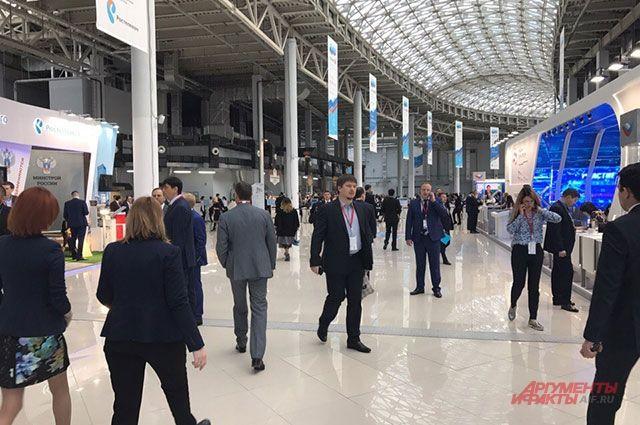 В 2020 году Российский инвестиционный форум в Сочи перенесли на неопределенное время из-за пандемии. Фото с РИФ-2019.