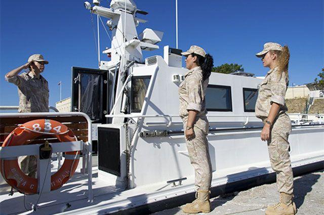На Черноморском флоте (ЧФ) завершился и признан успешным эксперимент по созданию женского экипажа на патрульном катере.