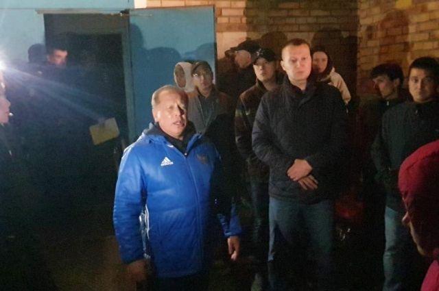 На место ЧП выезжал мэр Нижнекамска Айдар Метшин.