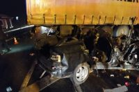 В ДТП с КАМАЗом в Удмуртии погибли шесть человек