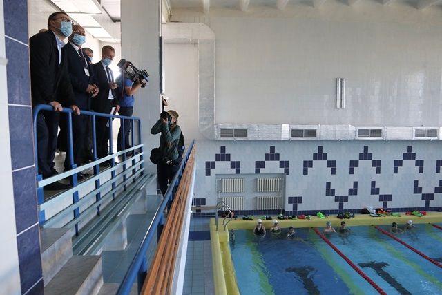 В ФОК «Лидер» есть даже бассейн, и он редко пустует.