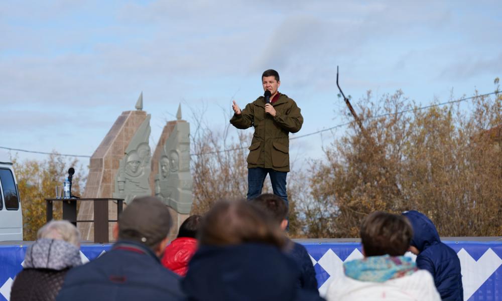 Дмитрий Артюхов встретился  с жителями