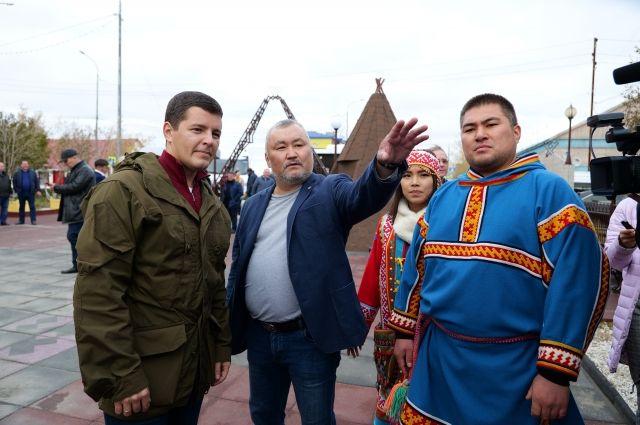 Дмитрий Артюхов в Тазовском