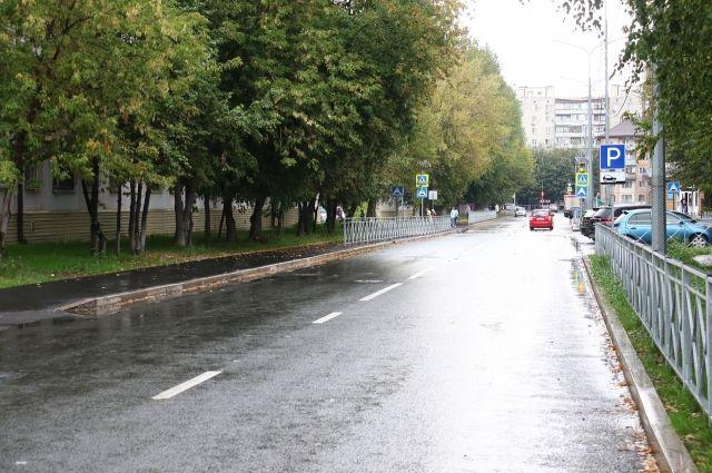 На улице Народной в Тюмени заменили более двух километров дорожного полотна