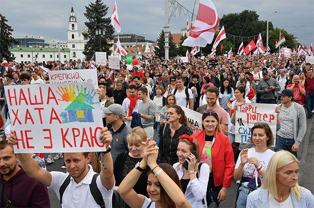 Воскресные марши стали в Минске традиционными.