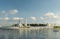 Проект центра парусного и гребного спорта в Воронеже.