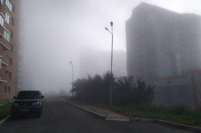 Утренние туманы – привычное явление в этот период.