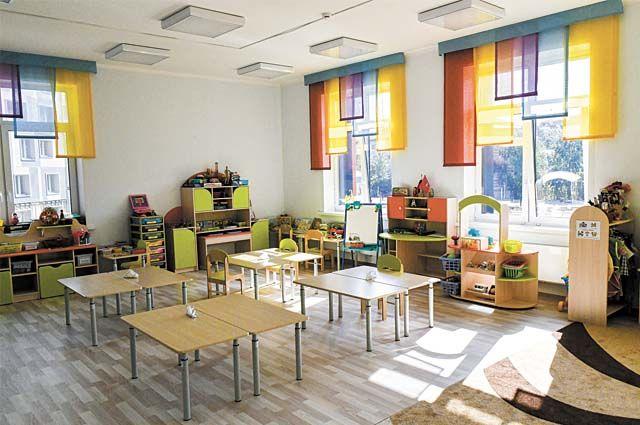 Детский сад «Академика» рассчитан на 160 детей.