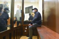 Заместитель министра энергетики РФАнатолий Тихонов, обвиняемый вхищении более 600 млн рублей бюджетных средств, вовремя избрания меры пресечения вБасманном суде Москвы.