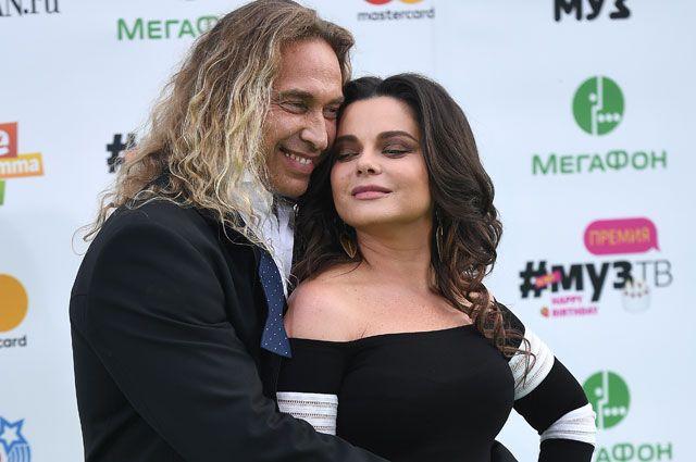 Певица Наташа Королева и её супруг Сергей Глушко (Тарзан).