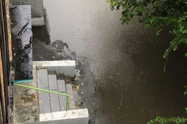 Затопленный дом на Энергетиков, 8