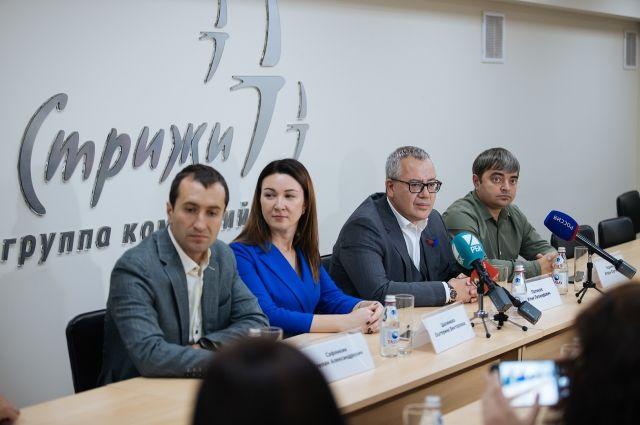Игорь Украинцев, Екатерина Шалимова, Илья Поляков и Степан Сафонкин рассказали на пресс-конференции о планах на будущее.