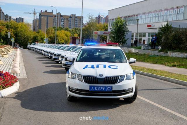 Чувашские сотрудники ГИБДД будут ездить на новеньких Skoda Octavia