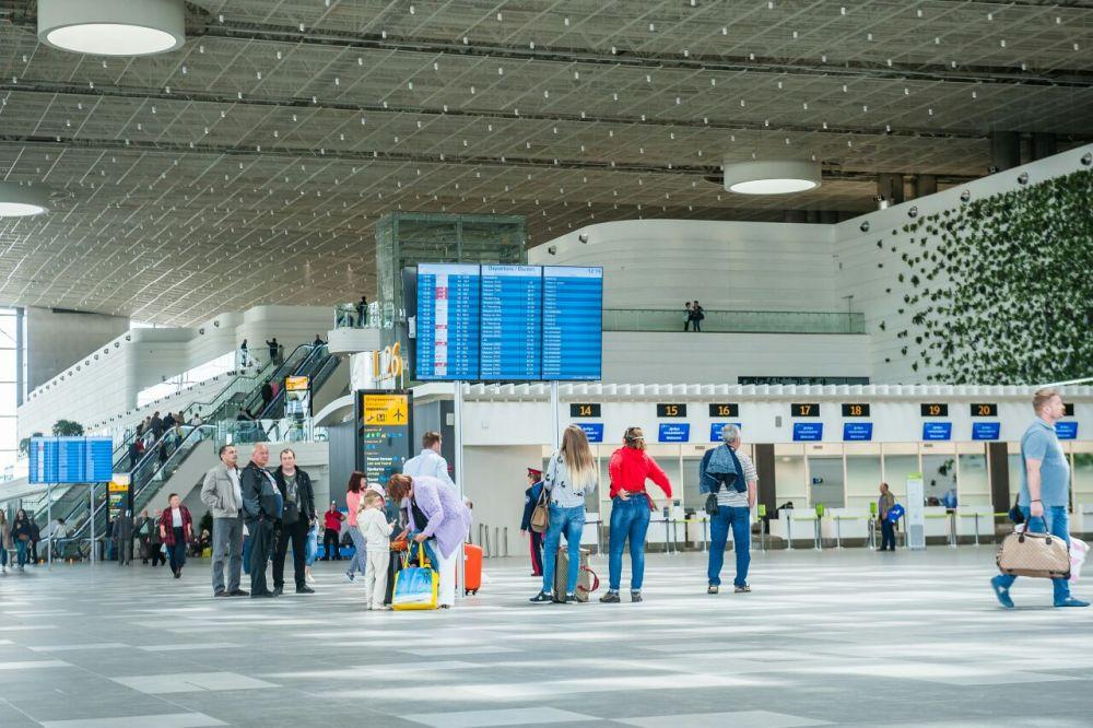 Международный аэропорт «Симферополь» за восемь месяцев 2020 года обслужил 2,9 млн пассажиров.