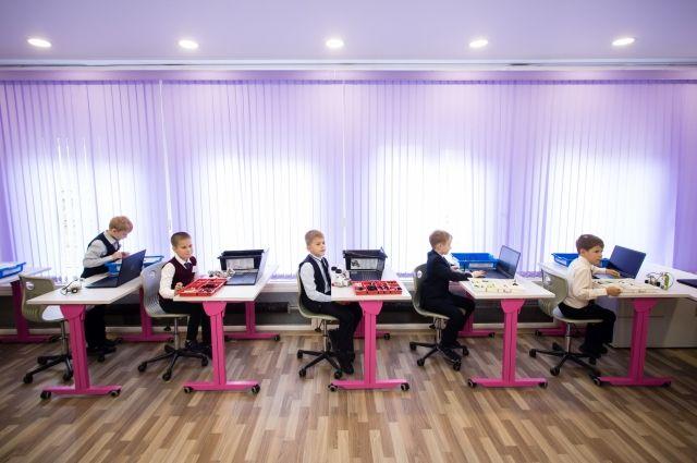Образовательный центр на базе ЦДО рассчитан на 576 мест.