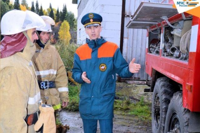 В Тюменской области активно создают команды добровольцев-пожарных