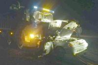 Под Соль-Илецком в ночном ДТП с грузовиком погибли пять человек.