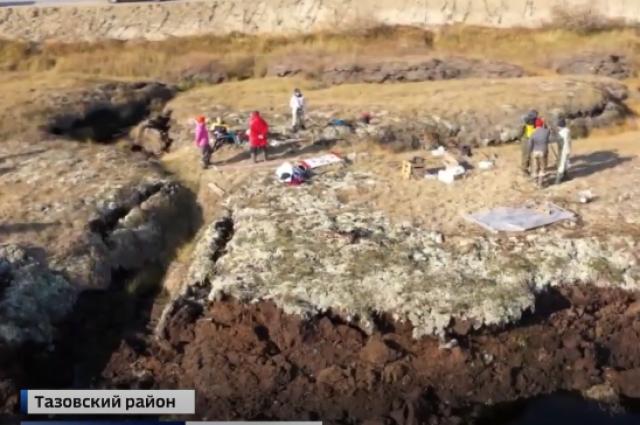 Ученые из Тюмени изучают на Ямале огромные тоннели в грунте