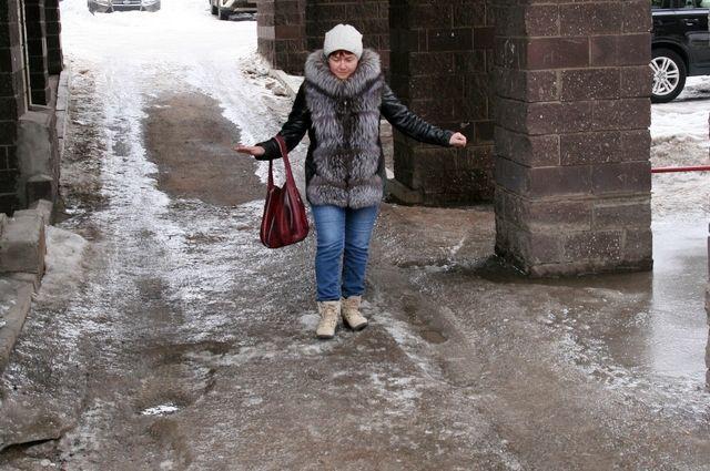 МЧС предупреждает о гололёде и сильном ветре в Башкирии