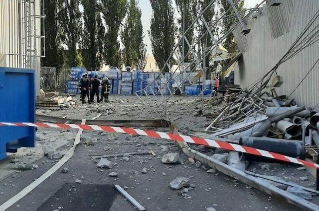 Взрыв на пивзаводе в Киеве: подробности