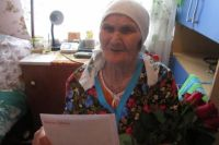 Жительница тюменской деревни отметила 90-летний юбилей